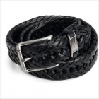 Nautica Braid Belt Size 44- Black